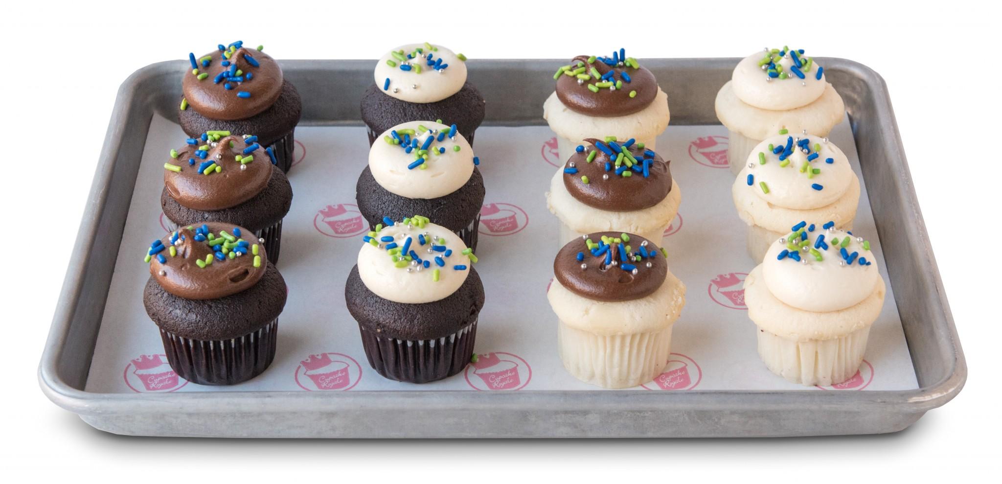 Seattle Football Babycake Dozen Cupcake Royale